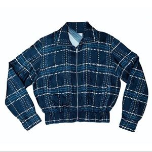 Marni Plaid Lightweight Jacket. NWT! Size 6.